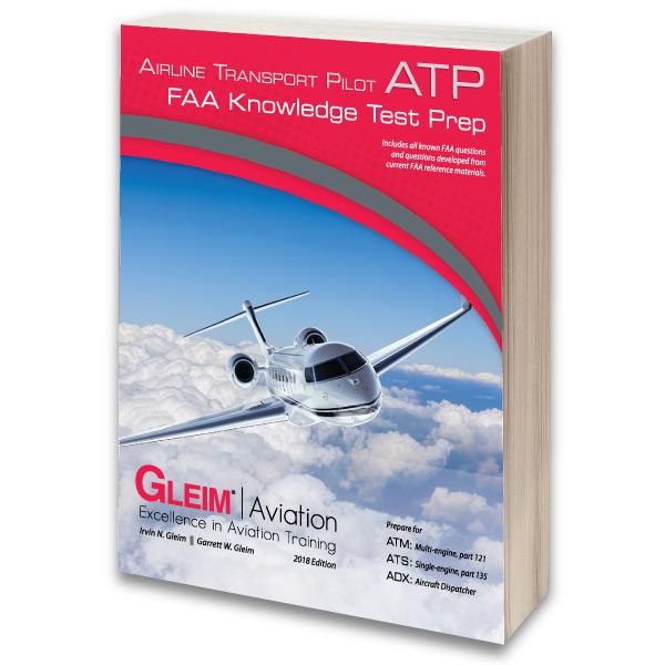 GLEIM AIRLINE TRANSPORT PILOT FAA KNOWLEDGE TEST BOOK