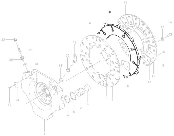 Cleveland 159 02700 Brake Disc From Aircraft Spruce