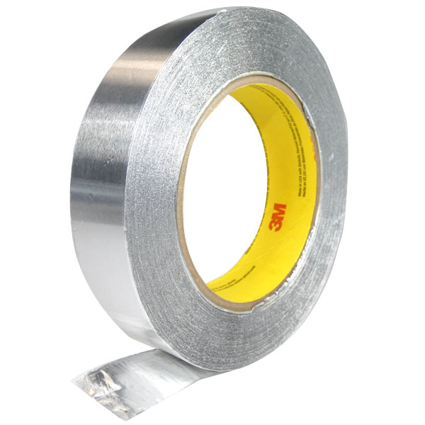 3M ALUMINUM FOIL TAPE 425   Aircraft Spruce on wheel tape, tail light tape, hose tape, washi tape, wire loom clips, muffler tape,