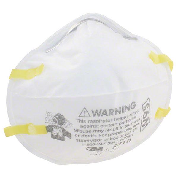 Respirator 3m Particulate 8210 N95
