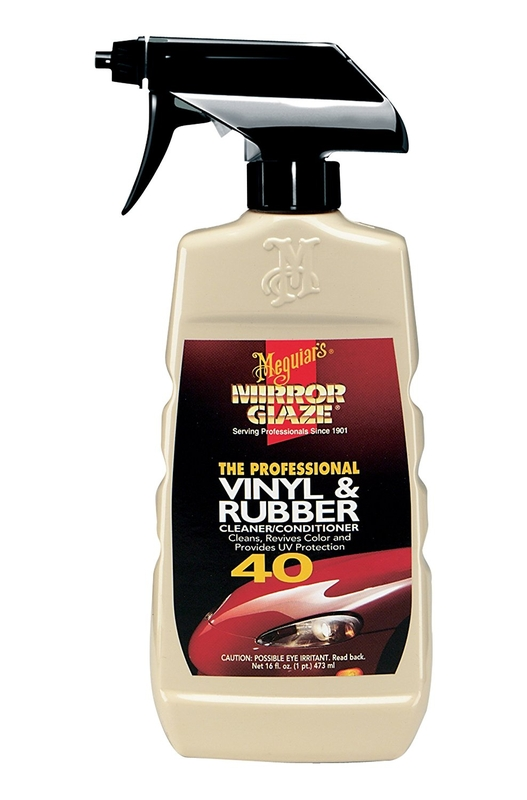 Meguiars Vinyl Amp Rubber Cleaner Conditioner 40 Aircraft