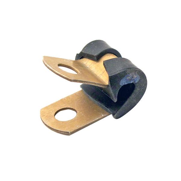 "50 each NOS 1//4"" Adel UMPCO Rubber Cushioned Loop Aluminum Clamps MS21919DG4"