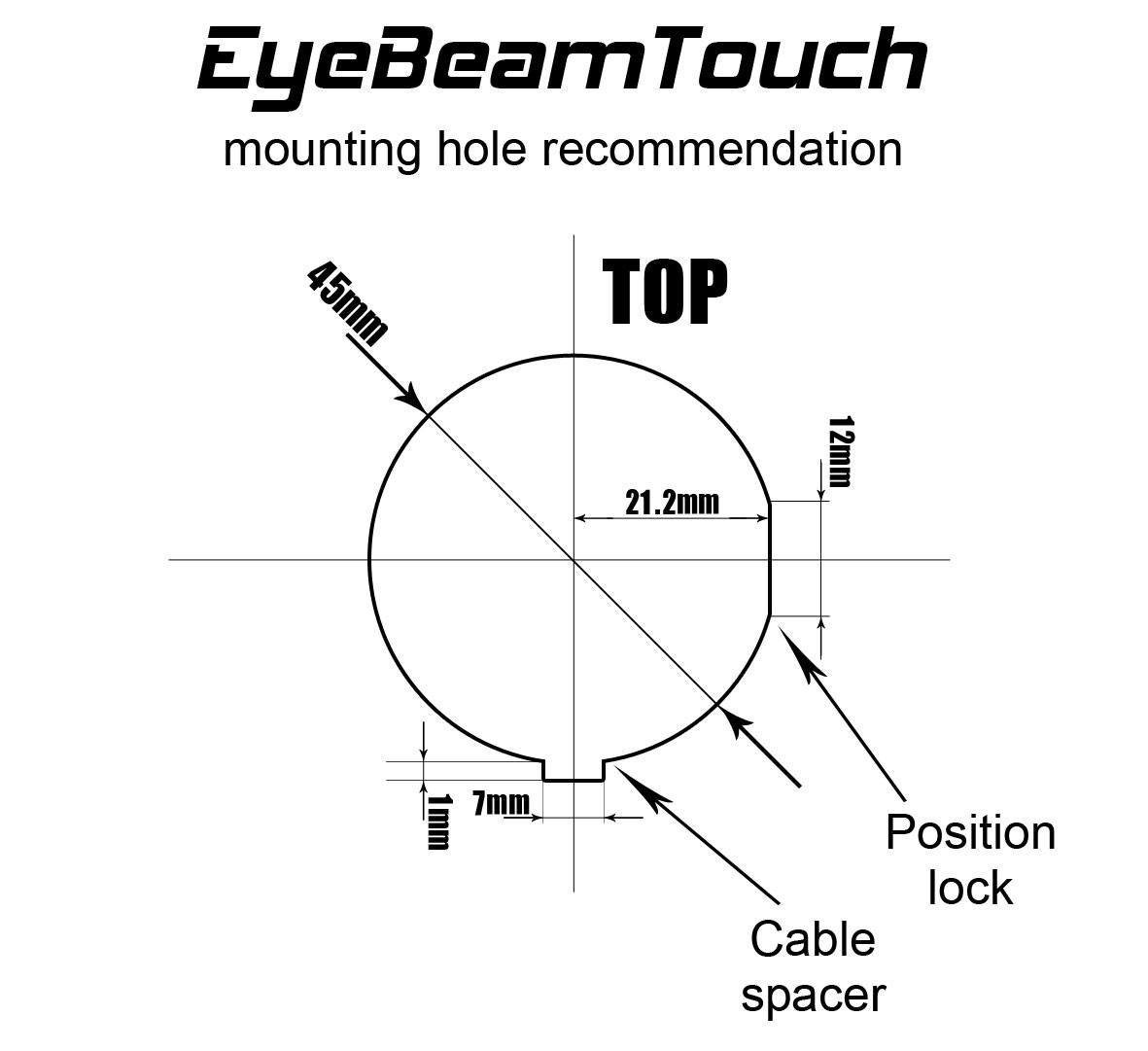 aveo eyebeam touch u2122