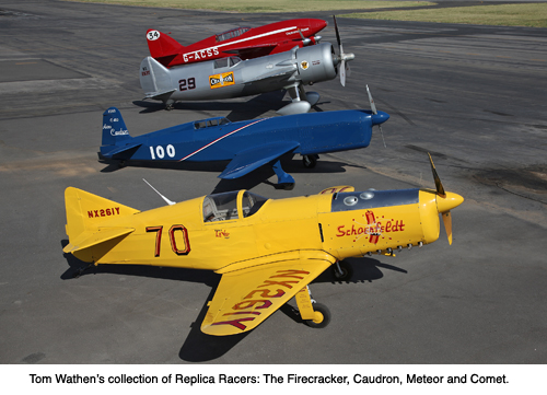 TOM WATHEN'S REPLICA RACERS COLLECTION | Aircraft Spruce