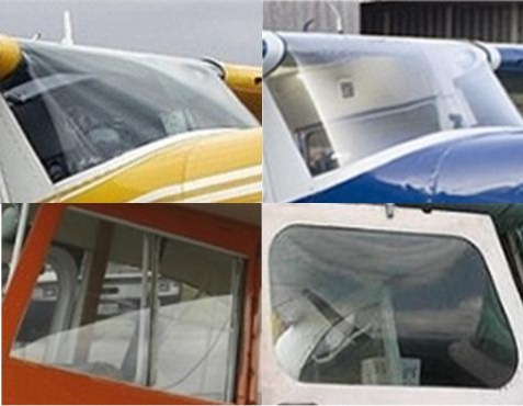CEE BAILEYS BEECHCRAFT MUSKETEER WINDOWS & WINDSHIELDS