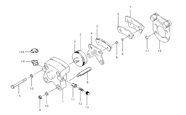 Cleveland 30 63a Brake Assembly From Aircraft Spruce