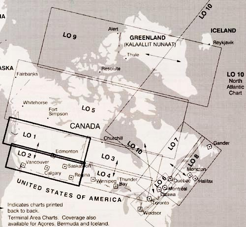 NAV CANADA LOW ENROUTE CHARTS From Aircraft Spruce