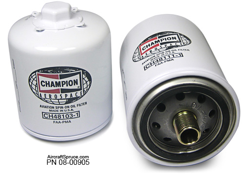CHAMPION SPIN ON OIL FILTERS