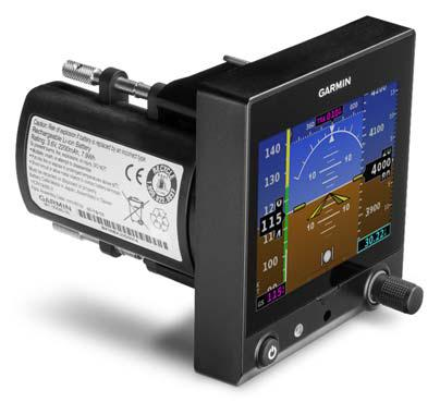GARMIN G5 PRIMARY ELECTRONIC ATTITUDE DISPLAY - STC'D FOR CERTIFIED AIRCRAFT
