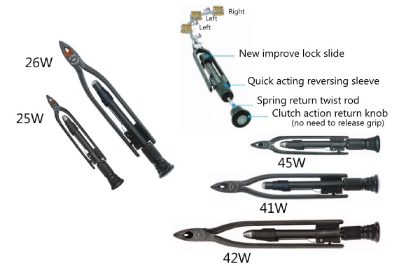 """AIRCRAFT TOOLS  NEW 6/"""" REVERSIBLE WIRE LOCKING PLIERS//SAFETY WIRE FOR MECHANICS"""