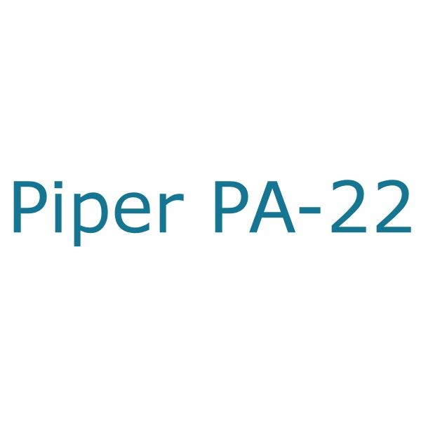 PIPER PA-22 STANDARD REPLACEMENT PARTS