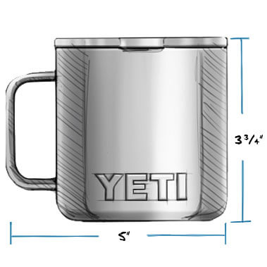 da8a72eb46f YETI® RAMBLER™ 14 OZ MUGS from Aircraft Spruce