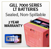 Gill 7000 Series LT Batteries