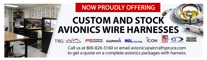 Custom And Stock Avionics Wire Harnesses